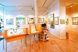 Roger Billcliffe Gallery Interior