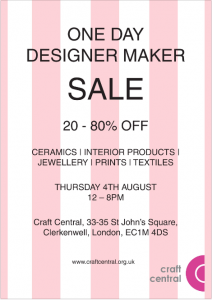 Craft Central One Day Sale